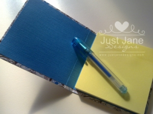 Sticky Note Cover - Inside